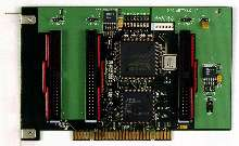 Programmable I/O Card performs any I/O function.