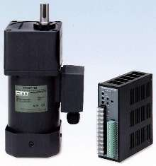 Gearmotor has 200 W output rating and small frame size.