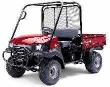Utility Vehicle features pick up truck styling.
