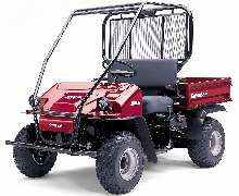 Utility Vehicle is suited for light industrial applications.