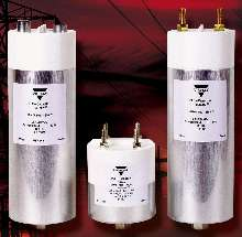 Metallized-Film Capacitors have current ratings to 150 A.
