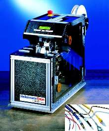 Label Applicator offers automatic operation.