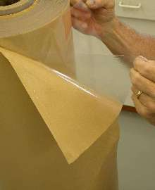 Double-Coated Tape offers solvent and temperature resistance.