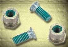 Self-Clinching Fasteners have Teflon®-based coating.