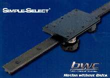 Linear Guides provide high-speed/short stroke movements.