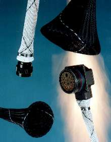 Expandable Sleeve is fire and abrasion resistant.