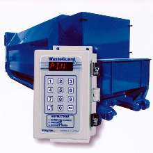Control System limits access to waste compactors.