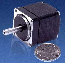 Miniature Step Motors provide near vibration-free operation.