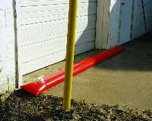 Barriers protect against spills and floods.