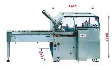 Cartoning Machine suits cosmetic/pharmaceutical industries.