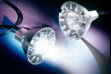 LED-Based Lamps can replace tungsten halogen units.