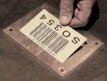 Labeling System labels floor storage.