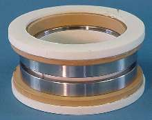 Seal is suited for use with airlocks and rotary valves.