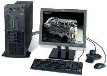 Deskside/Destop Workstation performs design and analysis.