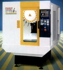 Vertical Machining Center has 21-station tool changer.