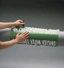 Pipe Markers are suitable for indoor or outdoor use.