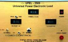 Electronic Load tests power sources in diverse applications.