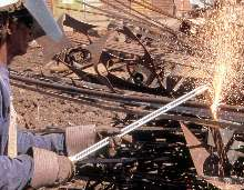 Torches designed for maneuverability in tight locations.