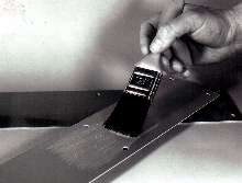 Adhesive/Sealent has temperature range of -300 to +300°F.