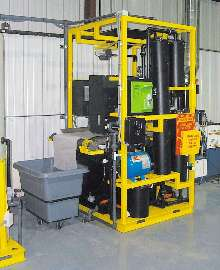 Wastewater Treatment System uses multi-step process.