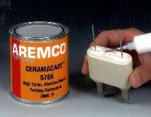 Ceramic Compound pots high temperature lamp bases.