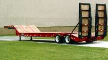 Fixed Gooseneck Trailers feature 30 degree incline.