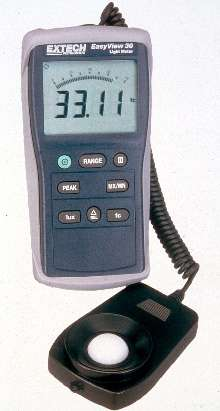Light Meters provide 0.01 resolution and 3% accuracy.