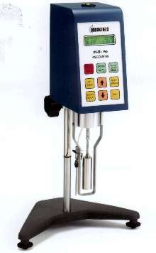 Viscometer features computer-driven capability.
