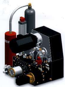 Injection System combines hydraulic and electric technology.