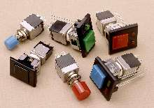 Pushbutton Switches feature light-touch tactile actuation.