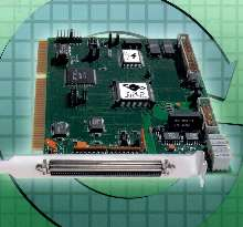 ISA Card controls DC brushed and step motors.