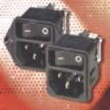 Power Entry Modules have current ratings from 1-10 A/250 V.