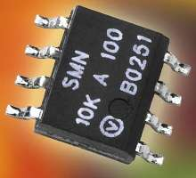 Resistor Network offers stability of 0.01% at 0.1 W.