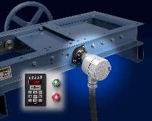 Slide Gate Monitor provides feedback of gate/valve position.