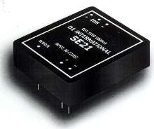 DC/DC Converters provide isolated output.