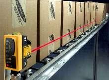 Retroreflective Laser Sensors provide small object detection.