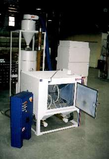 Blast System provides continuous, in-line operation.