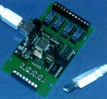 I/O Module features optical and relay isolation.