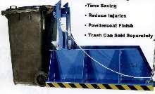 Trashcan Dumper prevents lifting injuries.