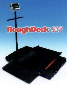 Pallet Scale is available as stationary or portable unit.