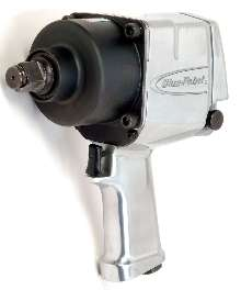 Impact Wrench loosens bolts in automotive applications.