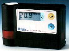 Oxygen Monitor detects hazardous gas concentrations.