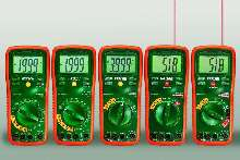 Digital Multimeters are rated CAT III-600V.