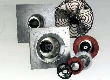 Fans suit appliances and HVAC applications.
