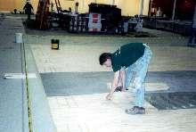 Urethane Adhesive suits indoor flooring installations.