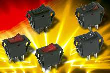 Power Rocker Switches enhance design aesthetics.