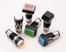 Pushbutton Switches offer illuminated/non-illuminated models.