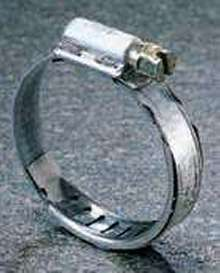 Clamp offers constant tension clamping during thermo cycling.