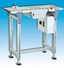 Flat-Belt Conveyor allows custom configurations.