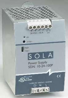 Power Supply offers SEMI F47 sag immunity.